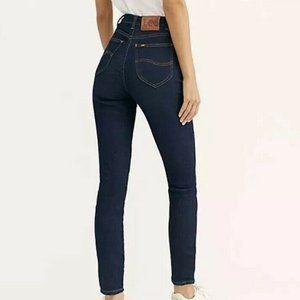 LEE Vintage Modern High Waist Dark Skinny Jeans